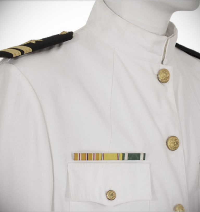 Navy Officer White Dress Uniforms