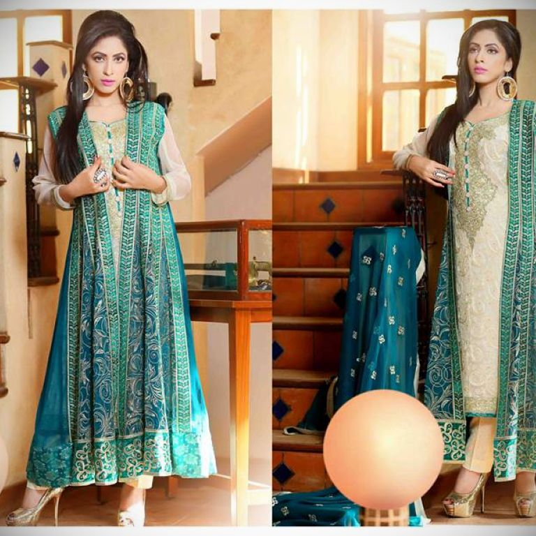 Net Fabric Dress Designs And Clothes Review