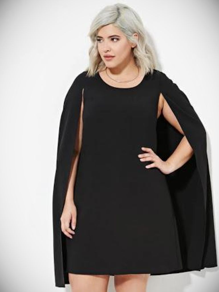 Plus Size Cape Dress - Things To Know