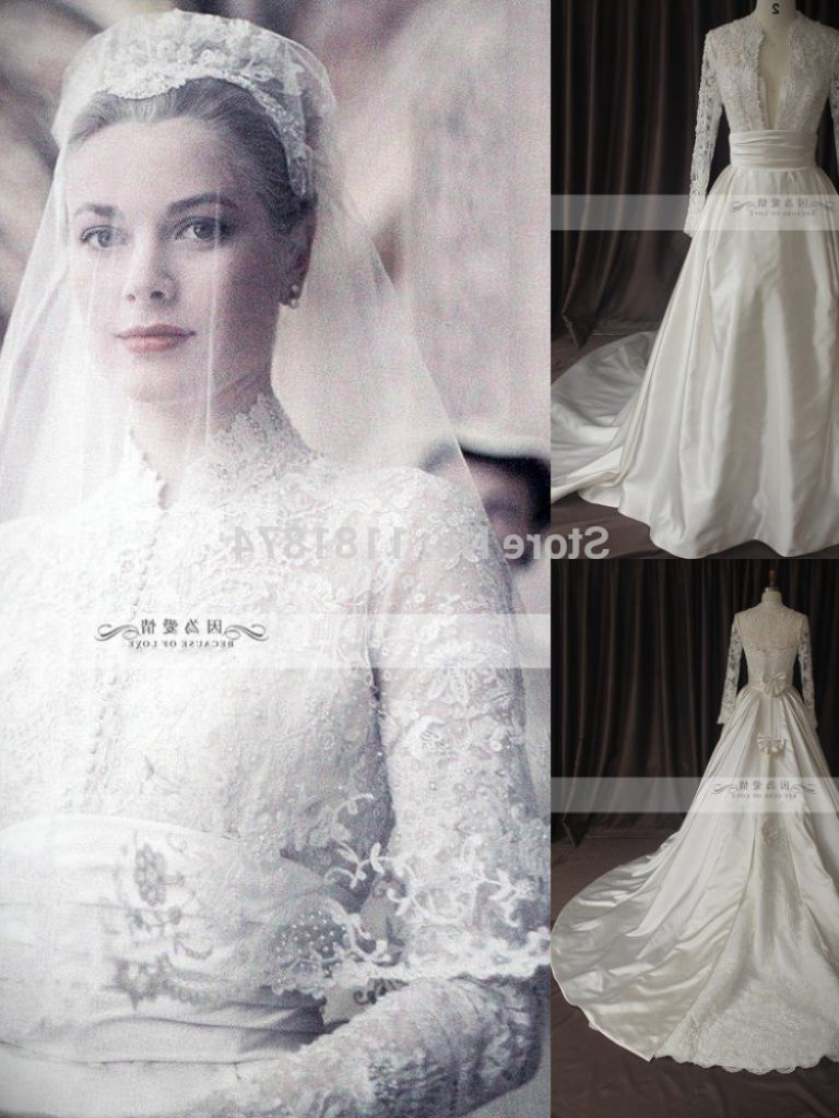 Princess Grace Monaco Wedding Dress - 24 Dressi