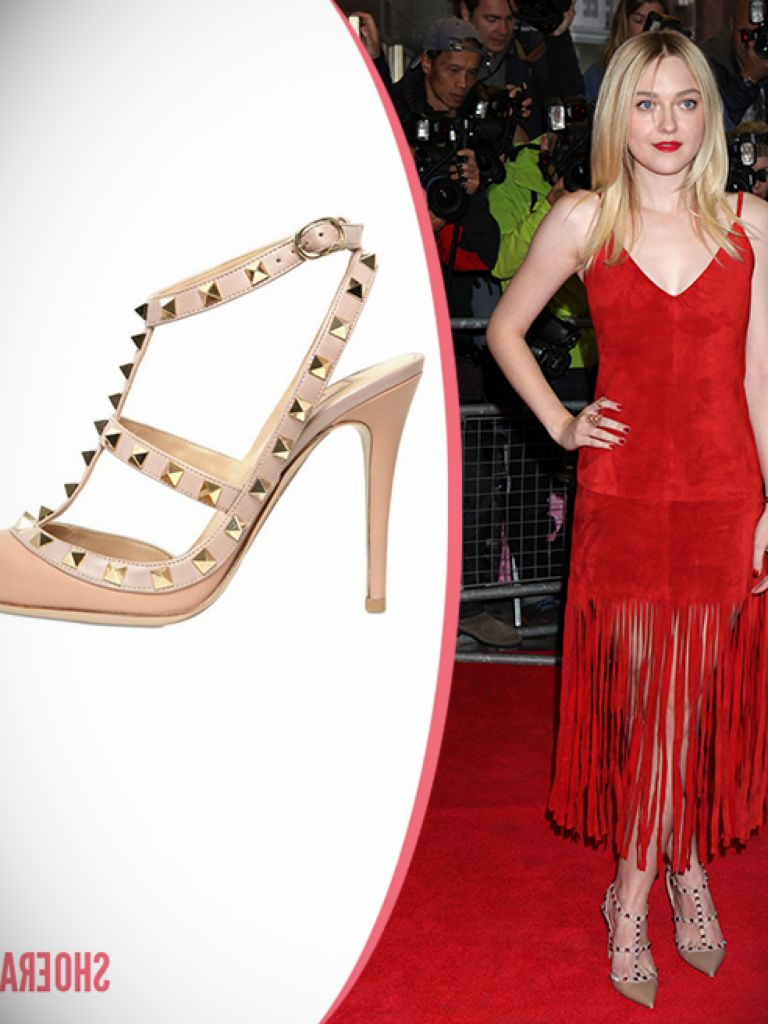 Red Dress Beige Heels - Things To Know