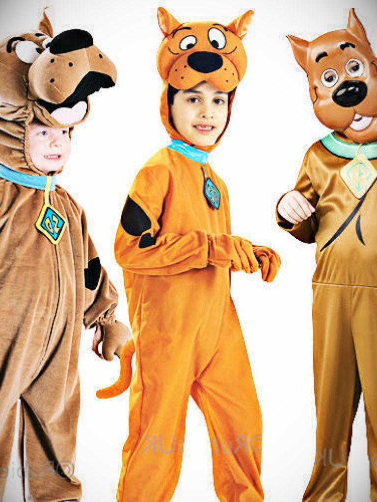 Scooby Doo Boys Fancy Dress Cartoon Character Dog Childrens Kids Costume Outfit