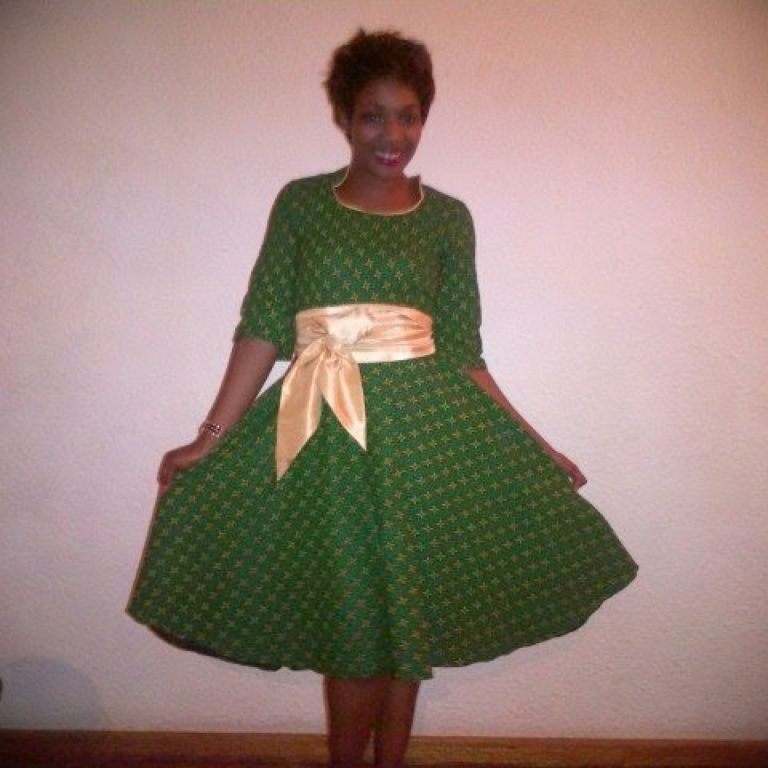 Shweshwe Dress For A Wedding