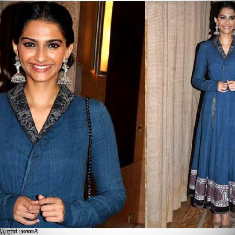 Sonam Kapoor Anarkali Dress & 2017-2018 Fashion Trend