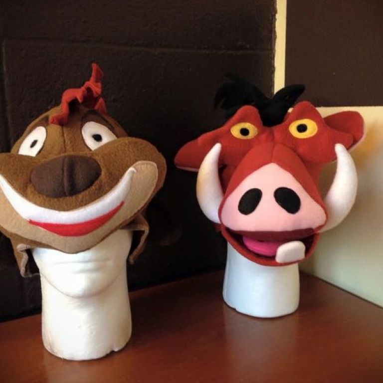 Timon And Pumbaa Fancy Dress