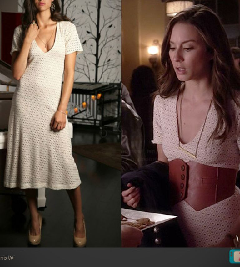 Troian Bellisario White Dress 24 Dressi