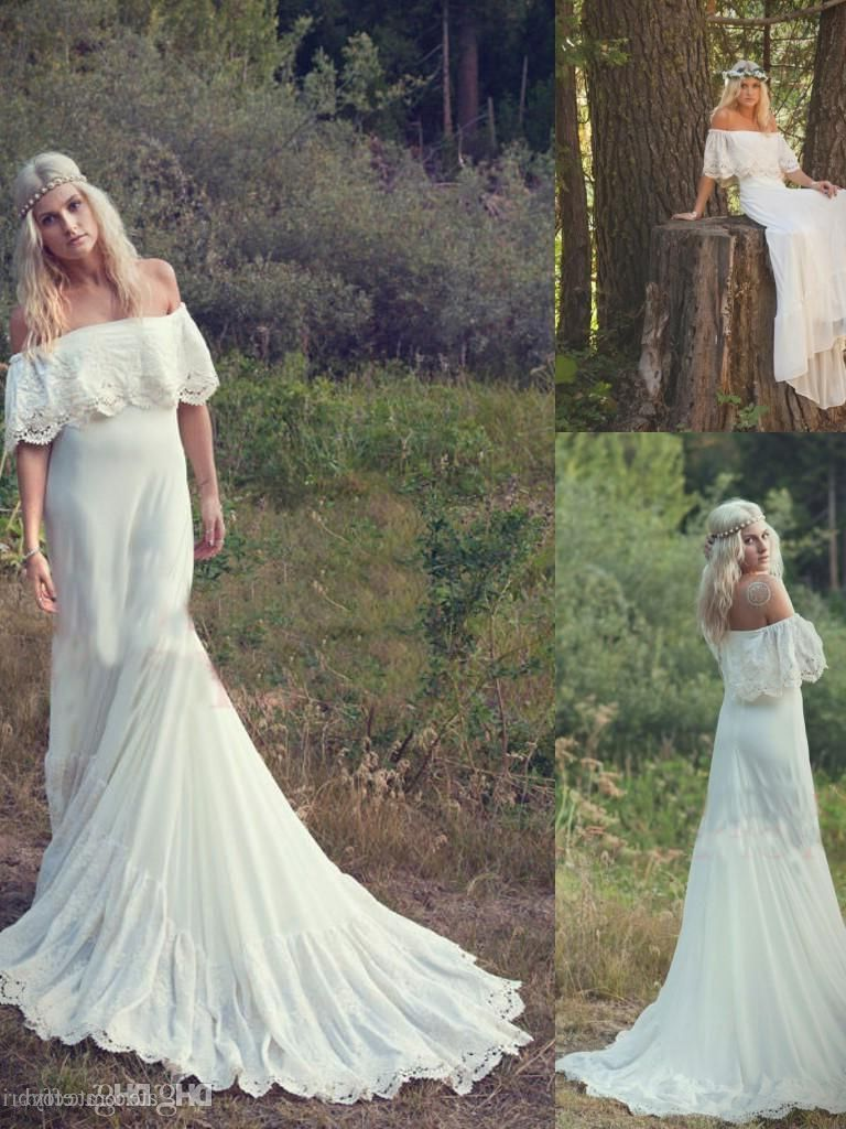 Unique Boho Wedding Dress: Choice 2017