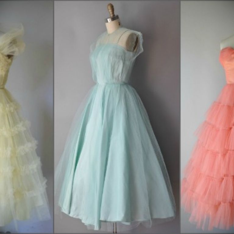 Vintage Retro Dress Uk - Make You Look Like A Princess