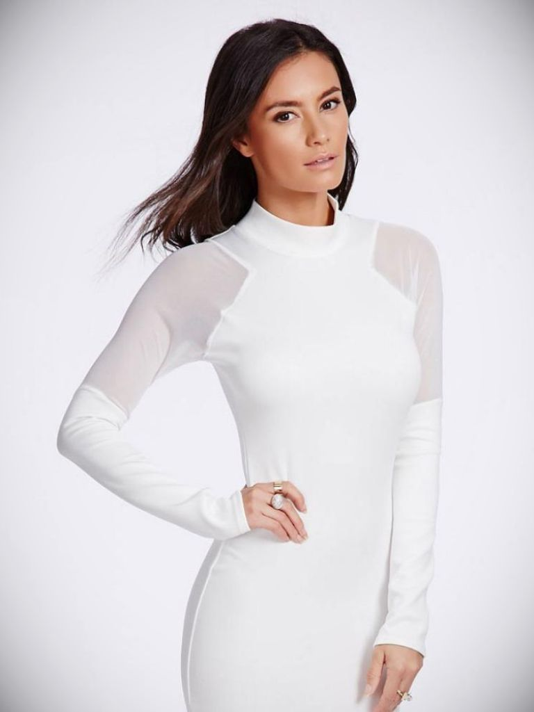 White Dress Winter Outfit And 16 Best Images