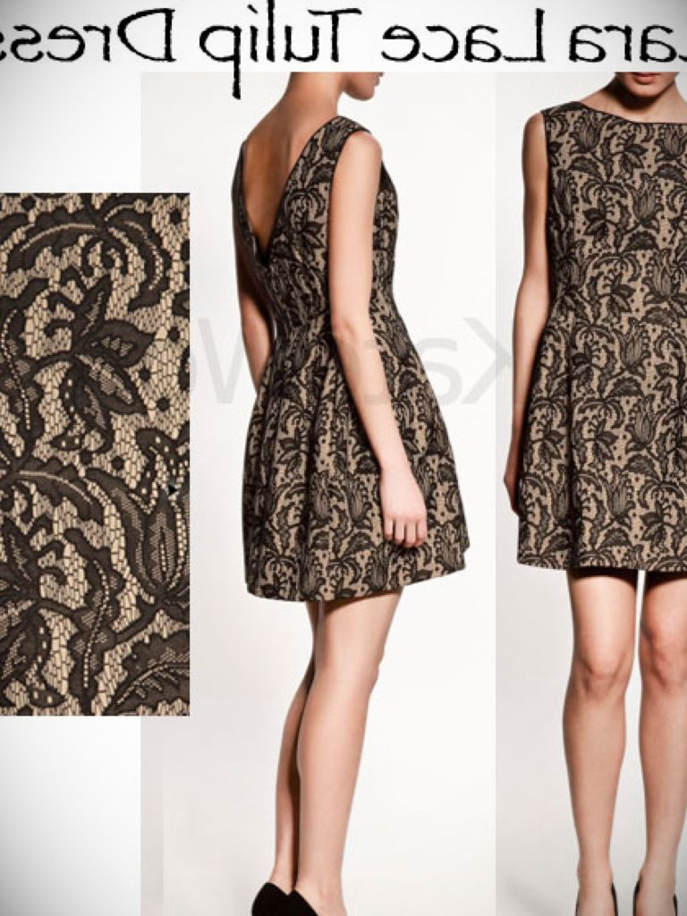 Zara Leather And Lace Dress & Guide Of Selecting