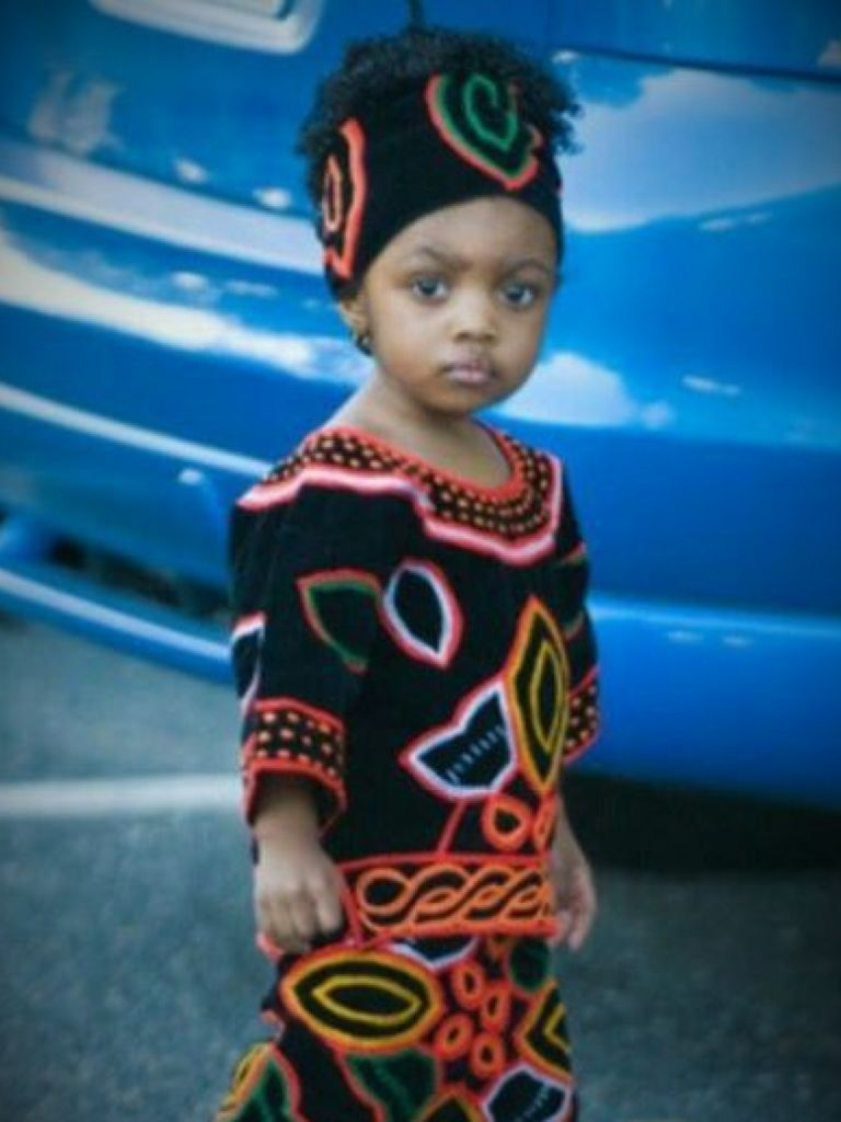 African Toddler Dress - Popular Styles 2017