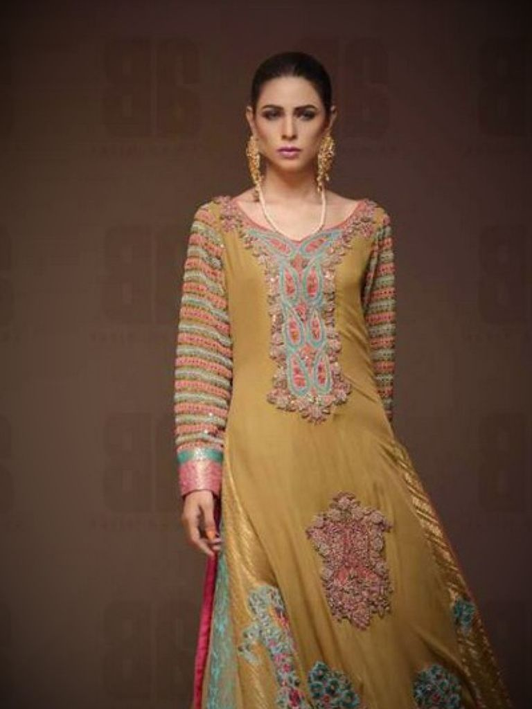 Designer Pakistani Wedding Dresses 2015
