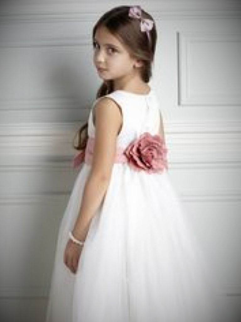 Dusky Pink Flower Girl Dress And Overview 2017