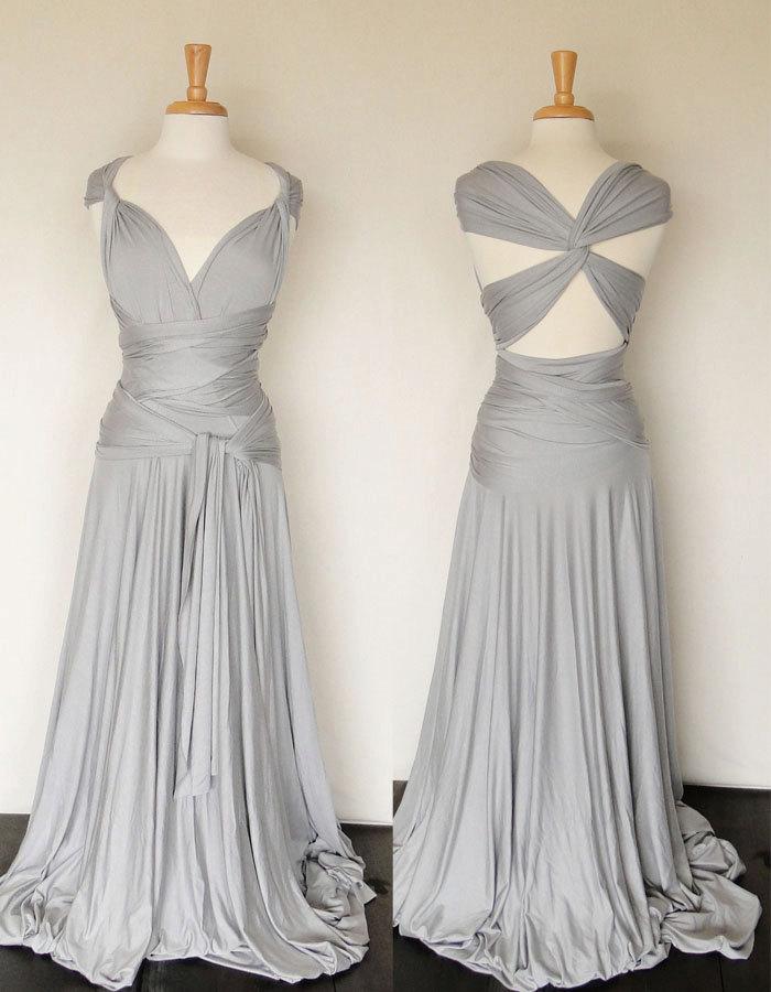 Ways to Tie Infinity Dress