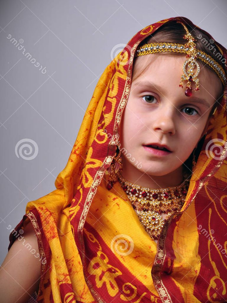 Indian Dress For Little Girl