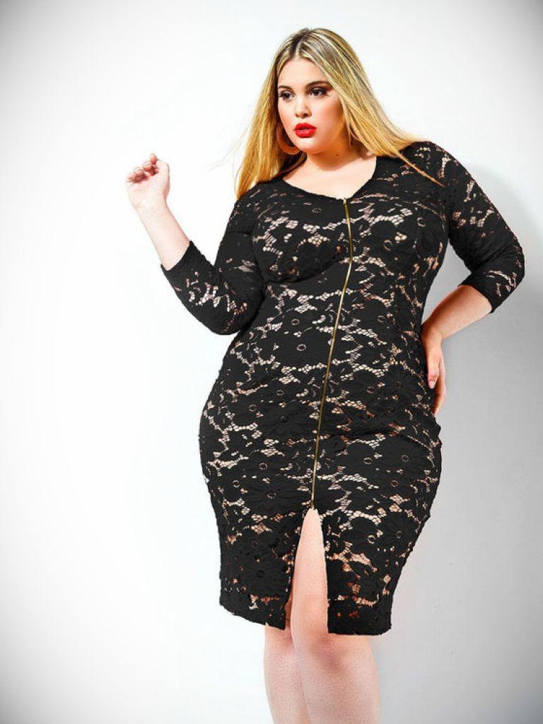 Black Mini Dress Plus Size - Clothes Review