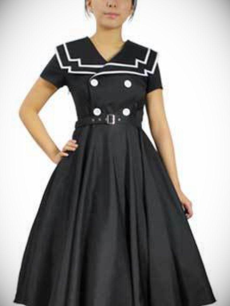 Black Rockabilly Dress Uk: New Trend 2017-2018