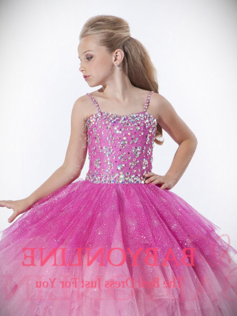 Blue Party Dress For Teenagers