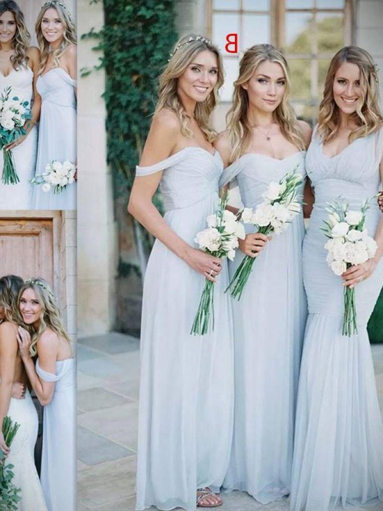 Blue Summer Dress For Weddings