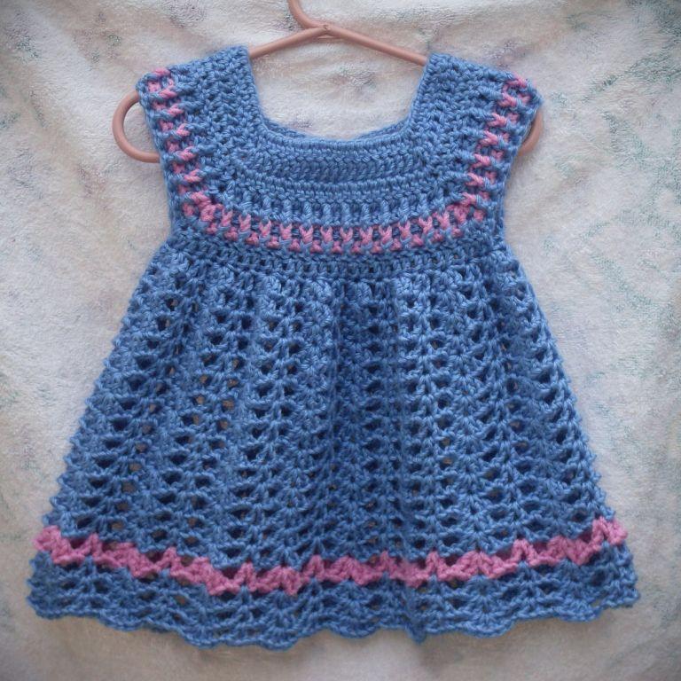 Childrens Crochet Dress Patterns Free