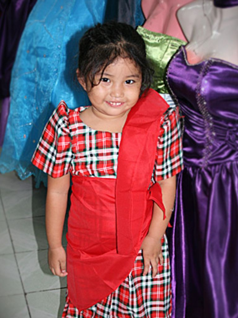 Filipiniana Dress For Children
