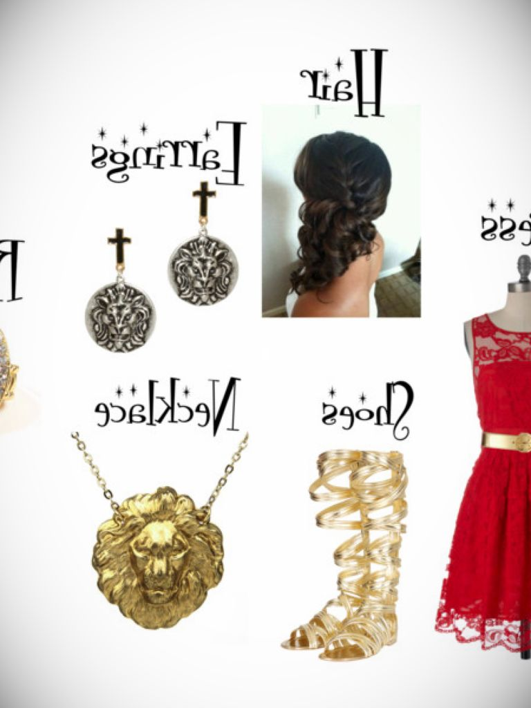 Gryffindor Yule Ball Dress: Fashion Week Collections