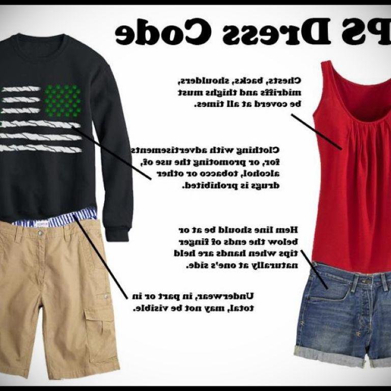 High School Dress Code Examples