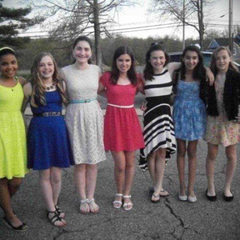 Junior High School Dance Dress