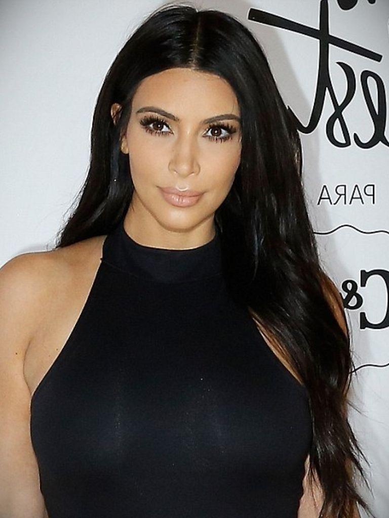Kim Kardashian Without Dress