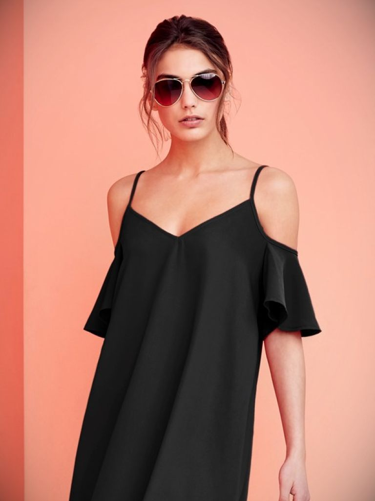 Lipsy Off Shoulder Dress: The Trend Of The Year