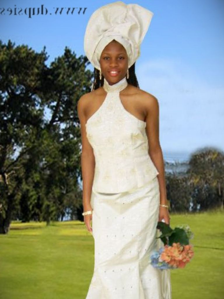Modern African Traditional Wedding Dress