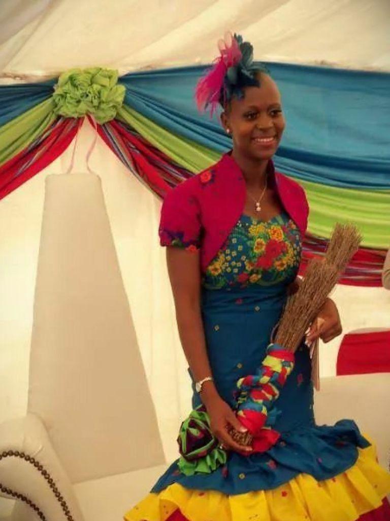 Modern African Traditional Wedding Dress