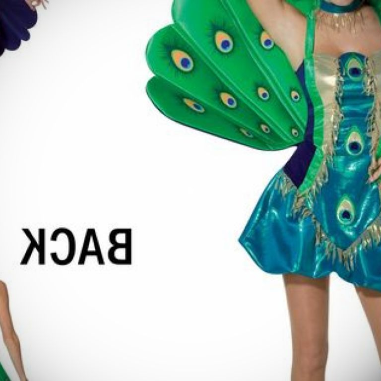 Peacock Tail Fancy Dress: How To Look Good 2017-2018