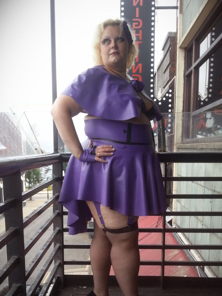 Plus Size Rubber Dress - How To Get Attention