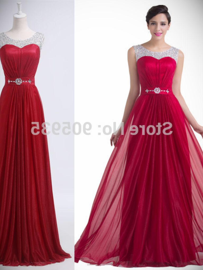 Prom Dress Dark Red And Review Clothing Brand