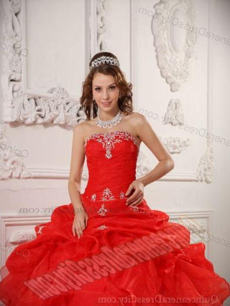 Quinceanera Winter Wonderland Dress