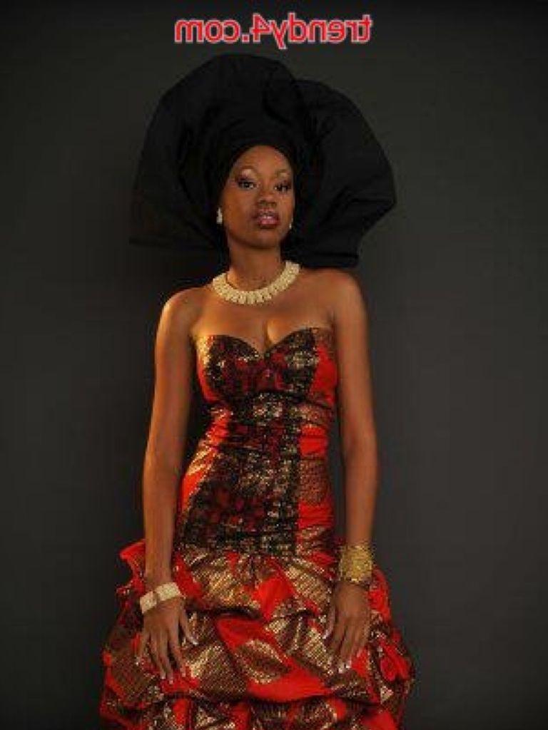 Shweshwe Dress For A Wedding