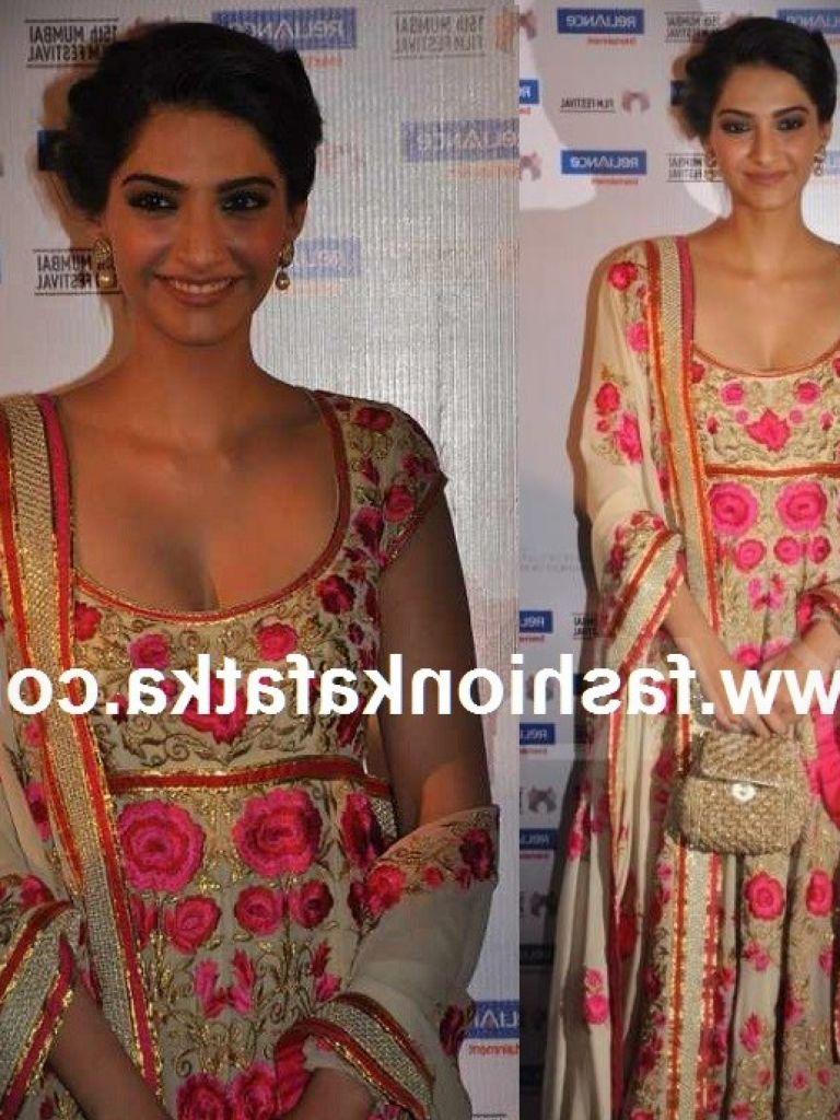 Sonam Kapoor Anarkali Dress & 2017-2018 Fashion Trend