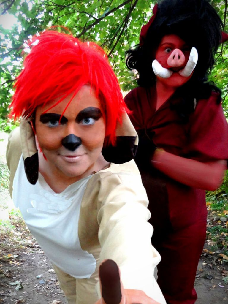 Timon And Pumbaa Fancy Dress