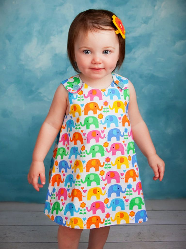 Toddler Dress Pattern Free Download