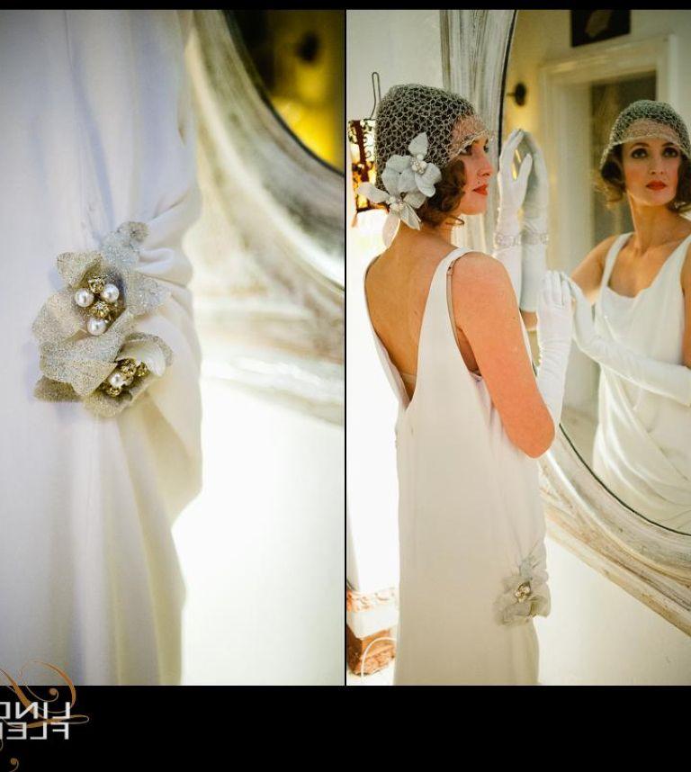 Vintage Shabby Chic Wedding Dress